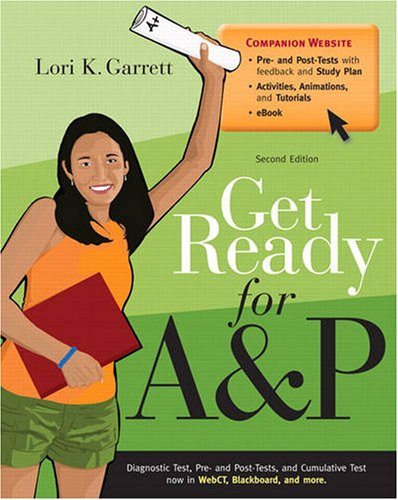 Get Ready for A&P  2nd 2010 edition cover