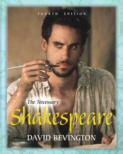 Necessary Shakespeare with NEW MyLiteratureLab -- Access Card Package  4th 2014 9780321869043 Front Cover
