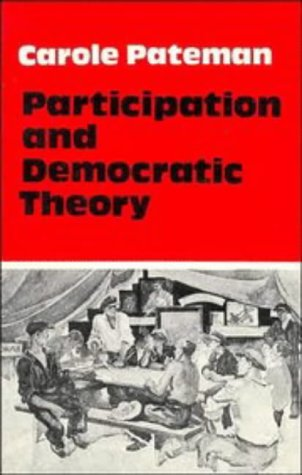 Participation and Democratic Theory  N/A edition cover