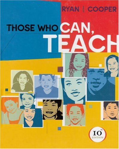 Those Who Can, Teach  10th 2004 edition cover