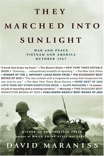 They Marched into Sunlight War and Peace Vietnam and America October 1967  2003 edition cover