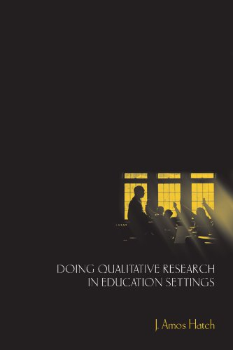 Doing Qualitative Research in Education Settings   2002 edition cover