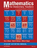 Mathematics for Elementary Teachers A Contemporary Approach 10th 2014 edition cover