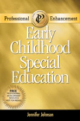The Exceptional Child Professional Enhancement Booklet: Inclusion in Early Childhood Education 6th 2008 edition cover