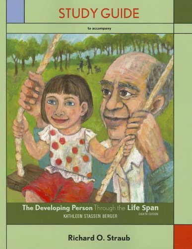 Study Guide for Developing Person Through the Life Span  8th 2012 edition cover