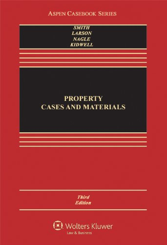 Property Cases and Materials 3rd (Revised) edition cover