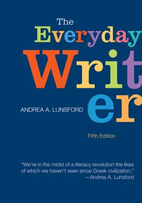 Everyday Writer  5th 2013 9781457600043 Front Cover