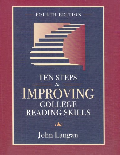 Ten Steps to Improving College Reading Skills 4th 2003 edition cover