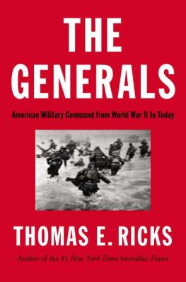 Generals American Military Command from World War II to Today  2012 edition cover