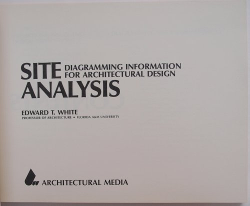 Site Analysis : Diagramming Information for Architectural Design 1st edition cover