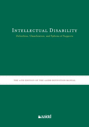 Intellectual Disability Definition, Classification, and Systems of Supports 11th 2010 9781935304043 Front Cover