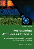 Representing Attitudes As Intervals - a Reformulation of Coombs' Theory of Unidimensional Unfolding N/A 9783836427043 Front Cover