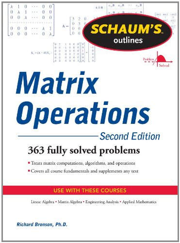Matrix Operations  2nd 2011 (Revised) edition cover