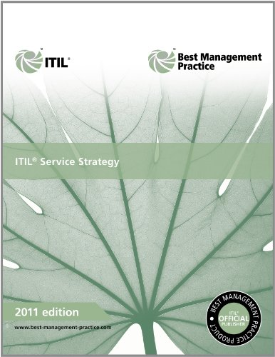 ITIL Service Strategy 2011  2nd 2011 9780113313044 Front Cover