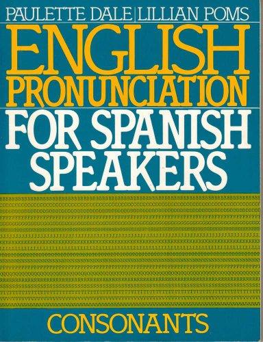 English Pronunciation for Spanish Speakers Consonants  1986 edition cover