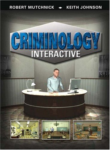 Criminology Interactive  2009 9780135135044 Front Cover