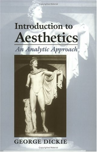 Introduction to Aesthetics An Analytic Approach  1997 edition cover