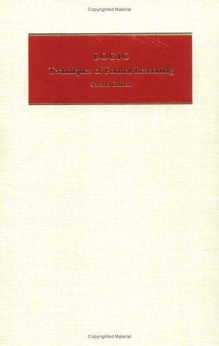 Logic Techniques of Formal Reasoning 2nd 1992 (Revised) edition cover