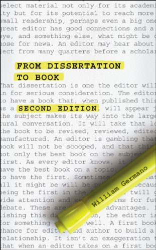 From Dissertation to Book  2nd 2013 edition cover