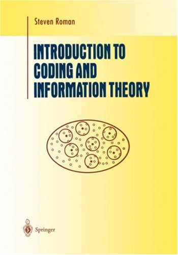 Introduction to Coding and Information Theory   1997 9780387947044 Front Cover