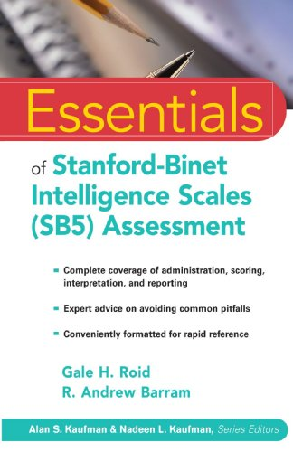 Essentials of Stanford-Binet Intelligence Scales (SB5) Assessment   2004 edition cover