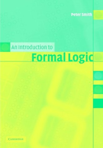 Introduction to Formal Logic   2003 edition cover