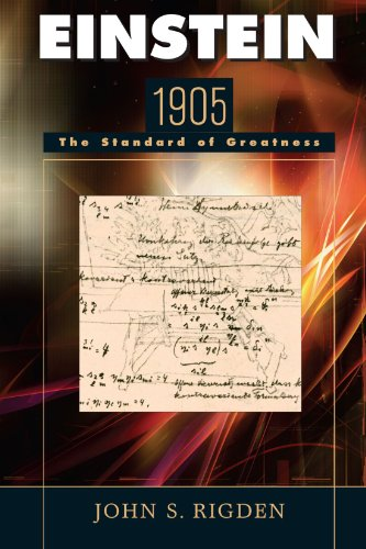 Einstein 1905 The Standard of Greatness  2005 edition cover