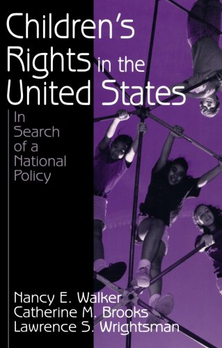 Children's Rights in the United States In Search of a National Policy  2001 edition cover