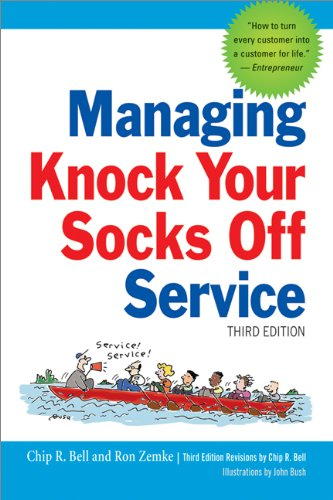 Managing Knock Your Socks off Service  3rd 2013 edition cover