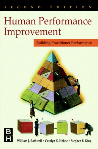 Human Performance Improvement Building Practitioner Competence  2000 9780884154044 Front Cover