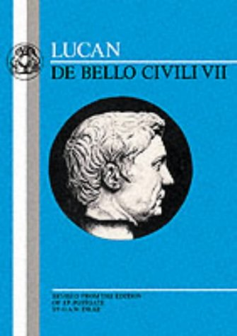 Lucan - De Bello Civili  Reprint  edition cover