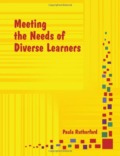 Meeting the Needs of Diverse Learners N/A edition cover