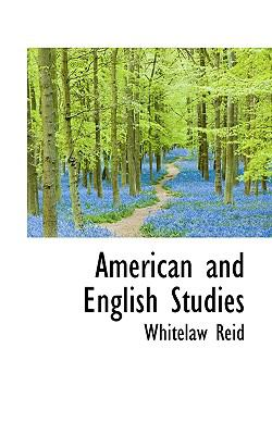 American and English Studies  N/A 9781116452044 Front Cover