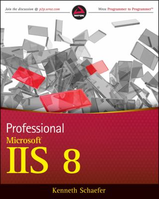 Professional Microsoft IIS 8   2013 edition cover