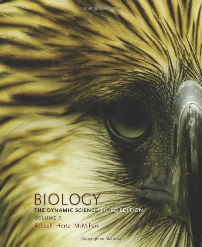 Biology: The Dynamic Science, Volume 1 3rd 2013 edition cover