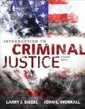 Introduction to Criminal Justice:   2015 edition cover