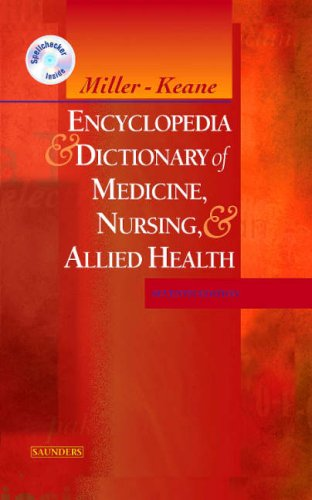 Encyclopedia and Dictionary of Medicine, Nursing, and Allied Health  7th 2003 (Revised) edition cover