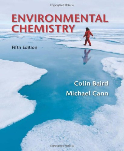 Environmental Chemistry  5th 2012 edition cover