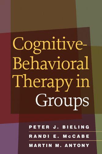 Cognitive-Behavioral Therapy in Groups   2006 edition cover