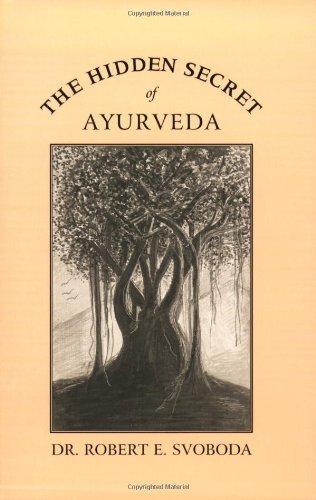 Hidden Secret of Ayurveda  2nd 2002 edition cover