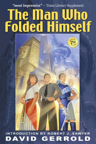 Man Who Folded Himself   2003 edition cover