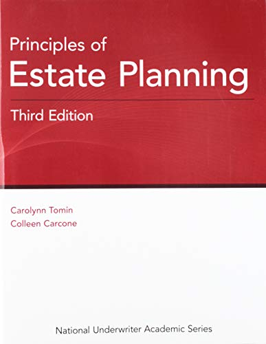 Principles of Estate Planning, 3rd Edition  3rd 9781949506044 Front Cover