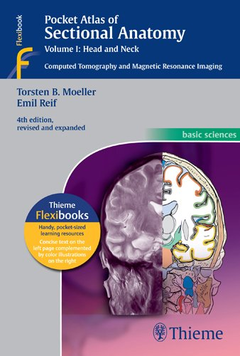 Sectional Anatomy - Head and Neck Computed Tomography and Magnetic Resonance Imaging 4th 2014 edition cover