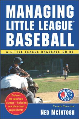 Managing Little League Baseball  3rd edition cover