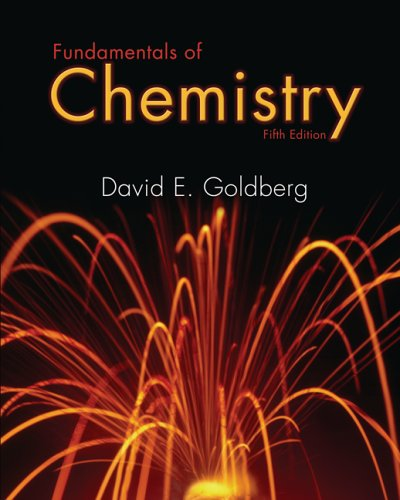 Fundamentals of Chemistry  5th 2007 (Revised) edition cover