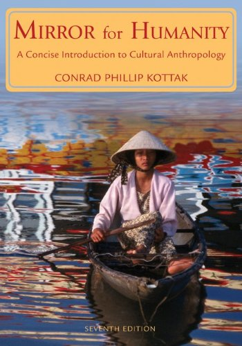 Mirror for Humanity A Concise Introduction to Cultural Anthropology 7th 2010 edition cover