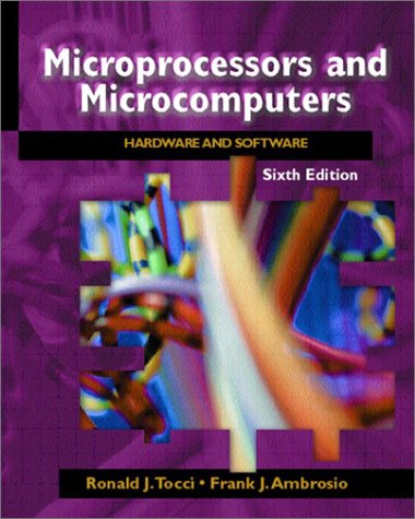 Microprocessors and Microcomputers Hardware and Software 6th 2003 (Revised) edition cover