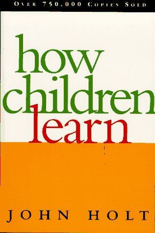 How Children Learn  Revised edition cover