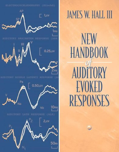 New Handbook for Auditory Evoked Responses   2007 edition cover
