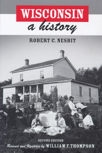 Wisconsin A History 2nd 2004 edition cover